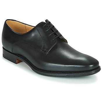 Sapatos Homem Sapatos Barker ELLON Preto