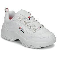 Sapatos Rapariga Sapatilhas Fila STRADA LOW KIDS Branco