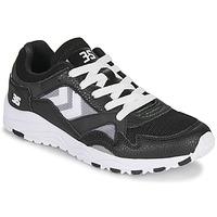 Sapatos Homem Sapatilhas Hummel EDMONTON 3S LEATHER Preto