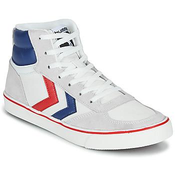 Sapatos Sapatilhas de cano-alto Hummel STADIL HIGH OGC 3.0 Branco / Azul / Vermelho
