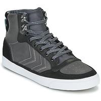Sapatos Sapatilhas de cano-alto Hummel STADIL WINTER Preto / Cinza