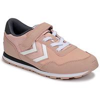 Sapatos Rapariga Sapatilhas Hummel REFLEX JR Rosa