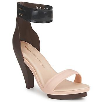 Sapatos Mulher Sandálias Melissa NO 1 PEDRO LOURENCO Bege / Castanho