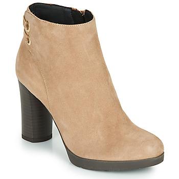 Sapatos Mulher Botins Geox ANYLLA HIGH Bege