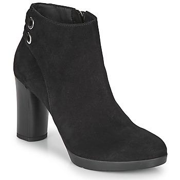Sapatos Mulher Botins Geox ANYLLA HIGH Preto