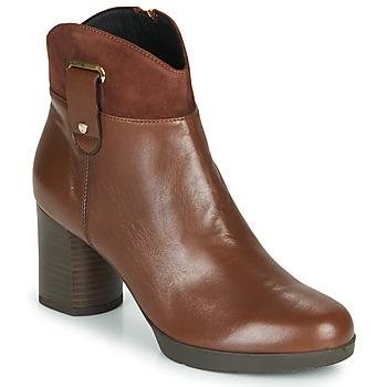 Sapatos Mulher Botins Geox ANYLLA MID Castanho