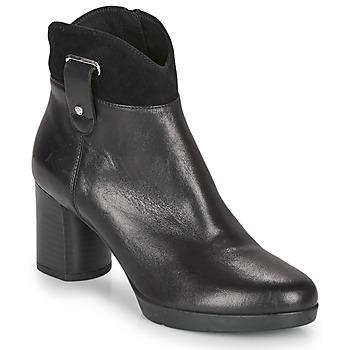Sapatos Mulher Botins Geox ANYLLA MID Preto