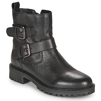 Sapatos Mulher Botins Geox HOARA Preto