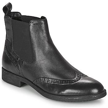 Sapatos Mulher Botins Geox JAYLON Preto