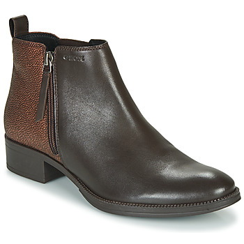 Sapatos Mulher Botins Geox LACEYIN Castanho