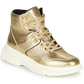 Sapatos Mulher Botins Geox MACAONE Dourado