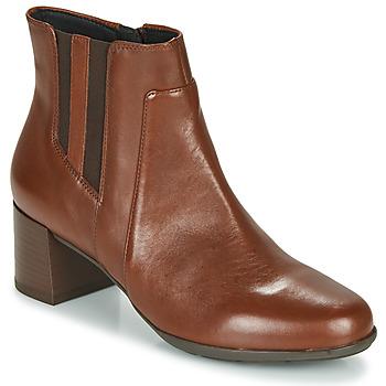 Sapatos Mulher Botins Geox NEW ANNYA MID Castanho