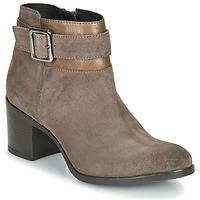 Sapatos Mulher Botins Geox NEW ASHEEL Bege