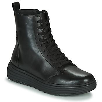 Sapatos Mulher Botas baixas Geox PHAOLAE Preto