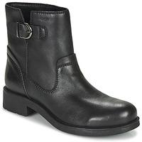 Sapatos Mulher Botas baixas Geox RAWELLE Preto