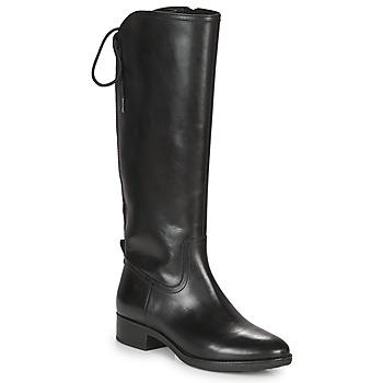 Sapatos Mulher Botas Geox FELICITY Preto