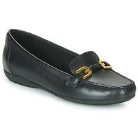 Sapatos Mulher Mocassins Geox ANNYTAH MOC Preto