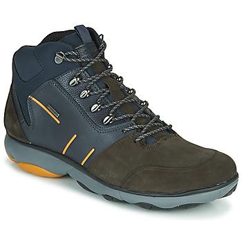 Sapatos Homem Botas baixas Geox NEBULA 4 X 4 B ABX Marinho / Castanho