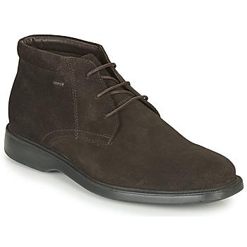 Sapatos Homem Botas baixas Geox BRAYDEN 2FIT ABX Castanho