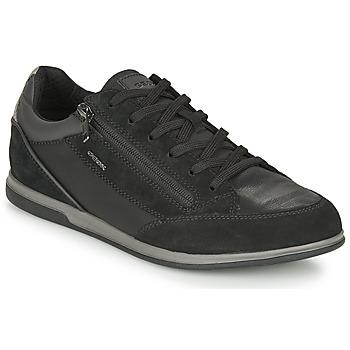 Sapatos Homem Sapatilhas Geox RENAN Preto
