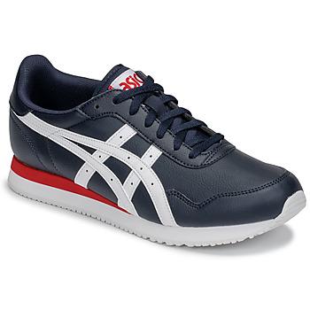 Sapatos Homem Sapatilhas Asics TIGER RUNNER Azul / Branco / Vermelho