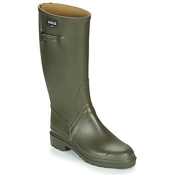 Sapatos Homem Botas de borracha Aigle CESSAC Cáqui