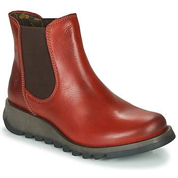 Sapatos Mulher Botas baixas Fly London SALV Vermelho