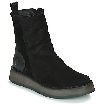 Sapatos Mulher Botas baixas Fly London RENO Preto