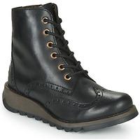 Sapatos Mulher Botas baixas Fly London SARL069FLY Preto