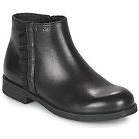 Sapatos Rapariga Botas baixas Geox AGGATA Preto