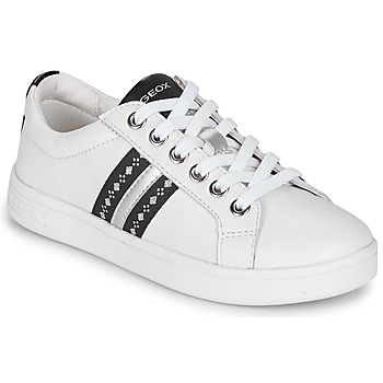 Sapatos Rapariga Sapatilhas Geox DJROCK Branco
