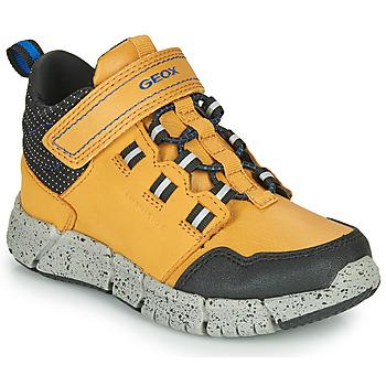 Sapatos Rapaz Botas baixas Geox FLEXYPER ABX Mel