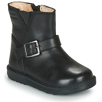 Sapatos Rapariga Botas Geox HYNDE WPF Preto