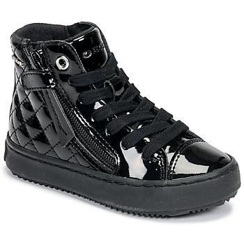 Sapatos Rapariga Sapatilhas de cano-alto Geox KALISPERA Preto