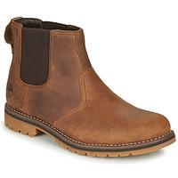 Sapatos Homem Botas baixas Timberland LARCHMONT II CHELSEA Castanho