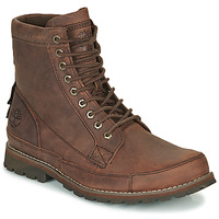 Sapatos Homem Botas baixas Timberland ORIGINALS II LTHR 6IN BT Castanho