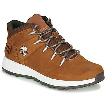 Sapatos Homem Botas baixas Timberland Sprint Trekker Mid Castanho