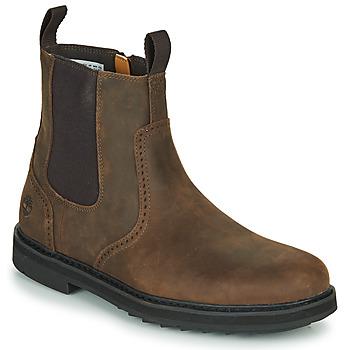 Sapatos Homem Botas baixas Timberland SQUALL CANYON BROG WP CHL Castanho