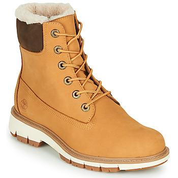 Sapatos Mulher Botas baixas Timberland LUCIA6INWARMLINEDBOOTWP Trigo