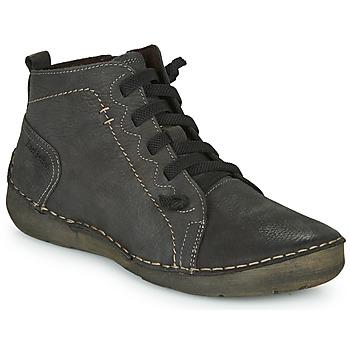 Sapatos Mulher Sapatilhas de cano-alto Josef Seibel FERGEY 86 Cinza