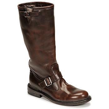 Sapatos Mulher Botas Moma BIRERS Castanho