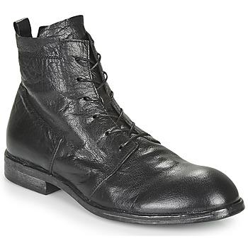 Sapatos Homem Botas baixas Moma PUNTO Preto