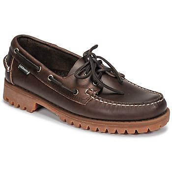 Sapatos Homem Sapato de vela Sebago RANGERWAXY Castanho