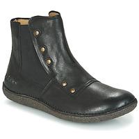 Sapatos Mulher Botas baixas Kickers HAPPLI Preto