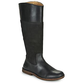 Sapatos Mulher Botas Kickers TAKIKO Preto