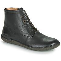 Sapatos Mulher Botas baixas Kickers HOBBYTWO Preto