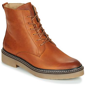 Sapatos Mulher Botas baixas Kickers OXIGENO Camel / Laranja