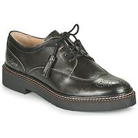 Sapatos Mulher Sapatos Kickers OXANYBY Prateado / Preto