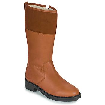 Sapatos Mulher Botas Kickers WATHIGH Camel