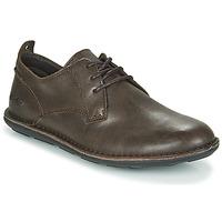 Sapatos Homem Sapatos Kickers SWIDIRA Castanho / Escuro